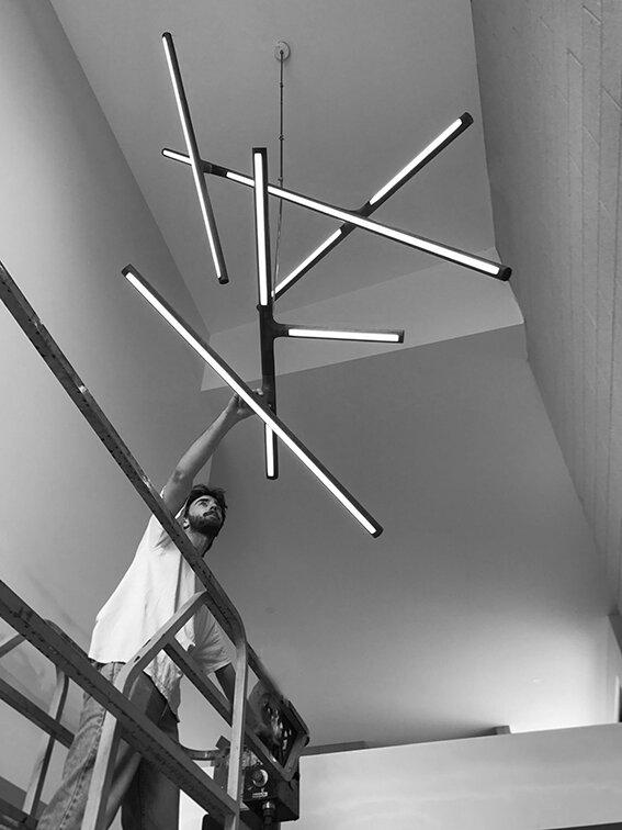 Alex Earl - Custom lighting melbourne